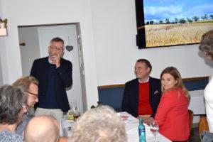 Bürgermeister Carl Christoph Möller mit Ehefrau Hermina