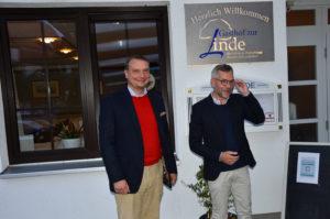 Bürgermeister Möller mit Gastredner Michael Roth